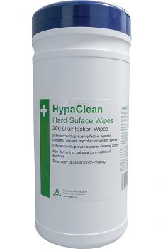 Hard surface wipes